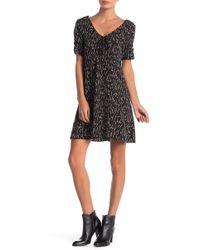 ANAMÁ - Floral Short Sleeve Dress - Lyst