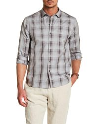 Tommy Bahama - Shadow Ridge Trim Fit Shirt - Lyst