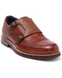 Ted Baker Ramink Monk Strap Shoe - Brown