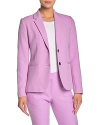 French Connection Sundae Suiting Blazer - Pink