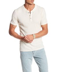 William Rast - Jacob Short Sleeve Henley - Lyst