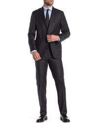 Hickey Freeman - Pinstripe Classic Fit Wool & Cashmere Suit - Lyst
