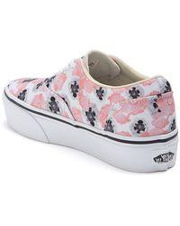 Vans Doheny Platform Sneaker - Multicolor