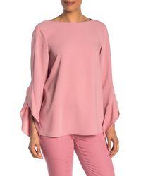 Lafayette 148 New York Emory Blouse - Pink