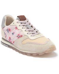COACH Mini Vintage Floral Fashion Sneaker - Pink