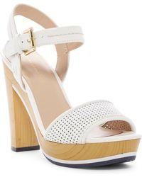 Tommy Hilfiger Weslee Platform Sandal - White