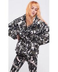 Norma Kamali Sleeping Bag Short Coat - Multicolour