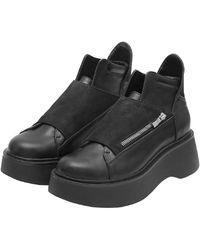 Void Boots Zip Pora Womenswear - Black