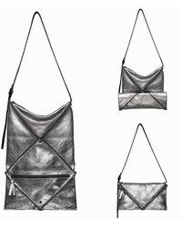 ARAMLEE - Hana Convertible Shoulder   Metallic - Lyst