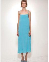 Jovana Markovic Shida Dress - Blue