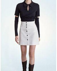 Jovana Markovic Zoja Skirt - White