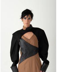 BLIKVANGER Black & Brown Dress