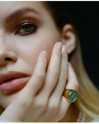 ROCKAH. Anchor Avo Signet Ring - Multicolor