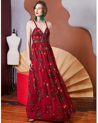 LAVANYA COODLY Sylvia Gown - Red