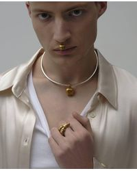 ROCKAH. Horned Ram's Head Ring - Multicolor