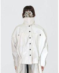 Också Wrapped Jacket - White