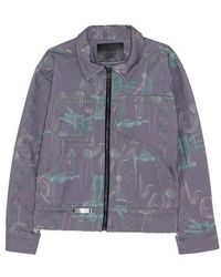 SILPA Golab Denim Jacket - Multicolor