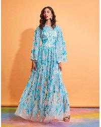 LAVANYA COODLY Gladys Dress - Blue