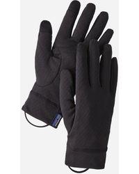 Patagonia Capilene Midweight Liner Gloves - Black