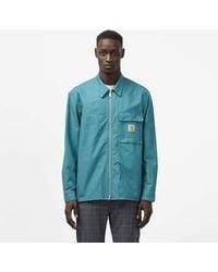 Carhartt WIP Lander Shirt Jacket - Blue