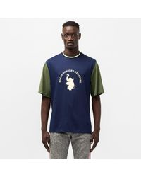 Wales Bonner College Graphic Tee - Green