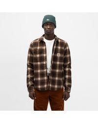 Carhartt WIP Lashley Shirt Jacket - Brown