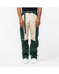 Reese Cooper M Paneled Nylon Sport Trouser - Green