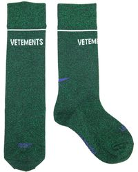 Vetements - Lurex Socks - Lyst