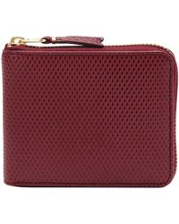 Comme des Garçons - 17fw Luxury Group Full Zip Wallet Burgundy - Lyst