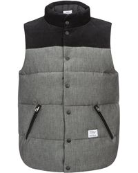 """Bedwin And The Heartbreakers - Chambray Down Vest """"fripp"""" - Lyst"""