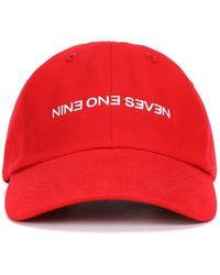 Nine One Seven - Backwards Hat - Lyst