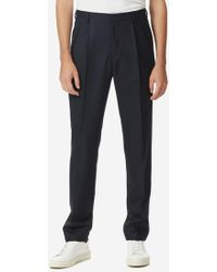 Dries Van Noten - Tapered Trousers W/ Back Pocket Flop - Lyst