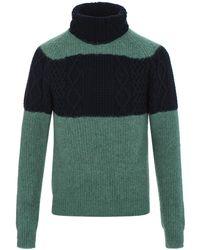 Kolor - Turtleneck Sweater - Lyst