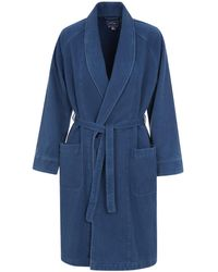 Blue Blue Japan - Small Sashiko Shawl Collar Coat - Lyst