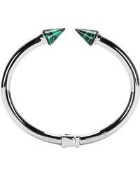 Vita Fede - Mini Titan Stone Bracelet Silver W/malachite - Lyst