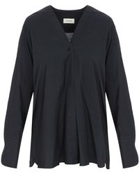 Lemaire - Wrapover Shirt - Lyst