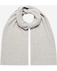 N.Peal Cashmere - Ribbed Wide Cashmere Scarf - Lyst