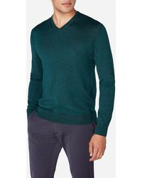 N.Peal Cashmere - The Conduit Fine Gauge V Neck Sweater - Lyst