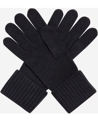 N.Peal Cashmere - Ribbed Cashmere Gloves - Lyst