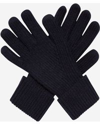 N.Peal Cashmere - Mens Ribbed Cashmere Gloves - Lyst