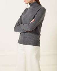 N.Peal Cashmere - Turtle Neck Cashmere Sweater - Lyst