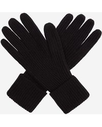 N.Peal Cashmere - Ladies Ribbed Cashmere Gloves - Lyst