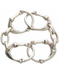 TAKAHIROMIYASHITA TheSoloist. Bone Shaped Carabiner Bracelet.-l - Metallic