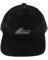 we11done Nylon Welldone Wapen Logo Cap - Black