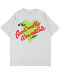 Emotionally Unavailable Ss Eulogo T - White