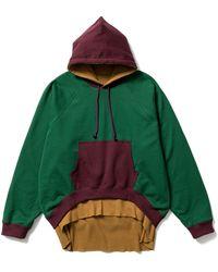 Sasquatchfabrix. Bolero Sweat Hoodie - Green