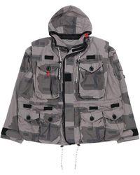 Maison Mihara Yasuhiro Military Blouson - Grey