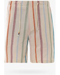 The Silted Company Bermuda Shorts - White