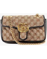 Gucci GG Marmont Small Shoulder Bag - Black