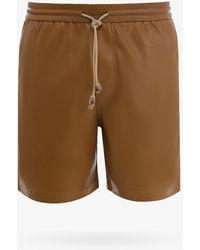 Nanushka Bermuda Shorts - Brown